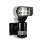 robotic LED security light