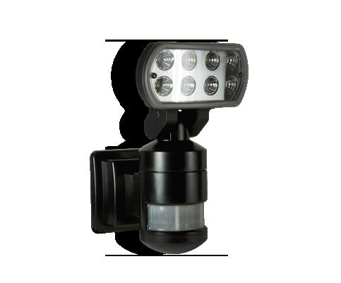 Nightwatcher robotic security lighting stop the burglar 01 8249605 nw520 robotic led security light mozeypictures Choice Image