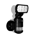 Security Light with Camera & SD Recorder