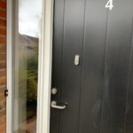 Door Lock Outside